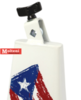 Puerto rico flag timbale cowbell