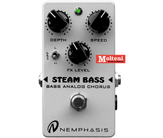 STEAM BASS ANALOG CHORUS NEMPHASIS