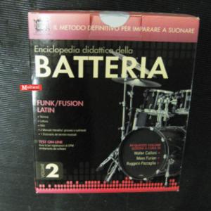 "Enciclopedia didattica della batteria vol. 2 ""Funk/Fusion-Latin"""