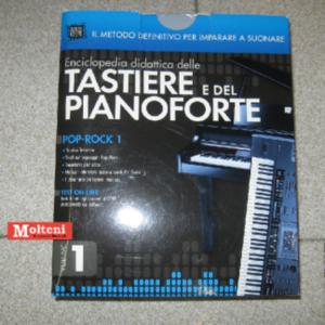 """Enciclopedia didattica delle tastiere e del pianoforte vol. 1 """"Pop-Rock 1"""""""