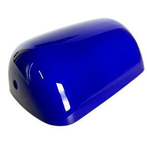 paralume lampada ministeriale grande blu