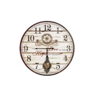 orologio parete pendolo stampa vintage
