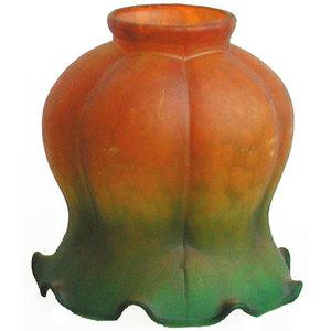 paralume in vetro colorato