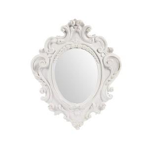 specchio bianco lavorato 38cm