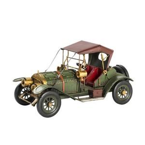 modellino auto d'epoca verde collezionismo