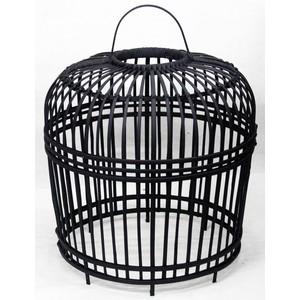 lampada sospensione nero 54 cm