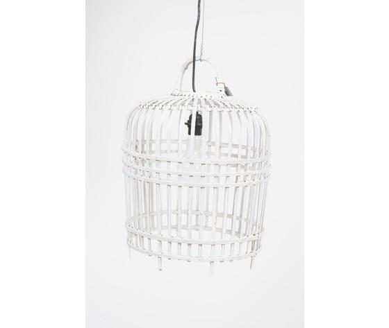 lampada sospensione bianca 41 cm