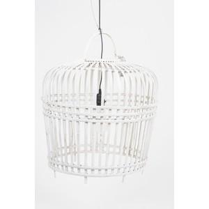 lampada sospensione bianca 54 cm