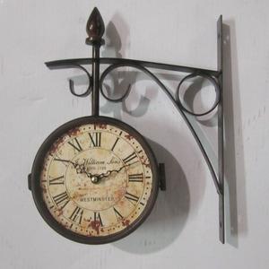 orologio da parete stile stazione anticato