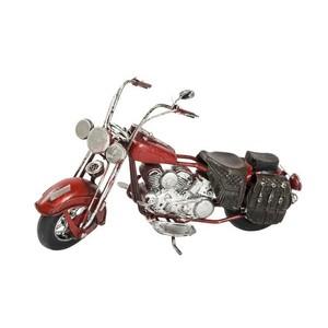 modellino chopper rossa collezionismo