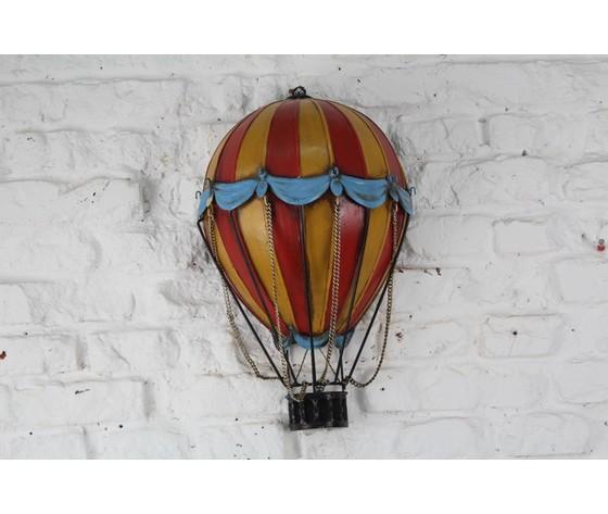 decorazione da parete mongolfiera 44cm