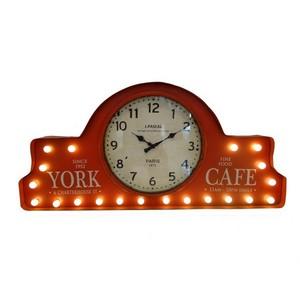 pannello da muro decorativo orologio a led