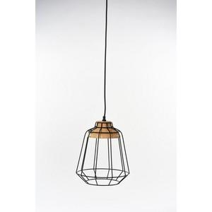 lampada sospensione nero 132 cm