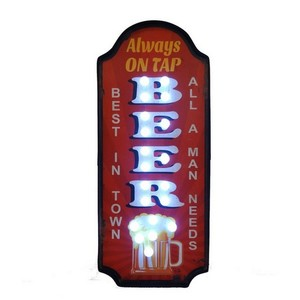 insegna luminosa beer