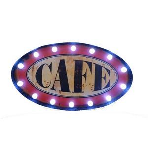insegna luminosa cafè