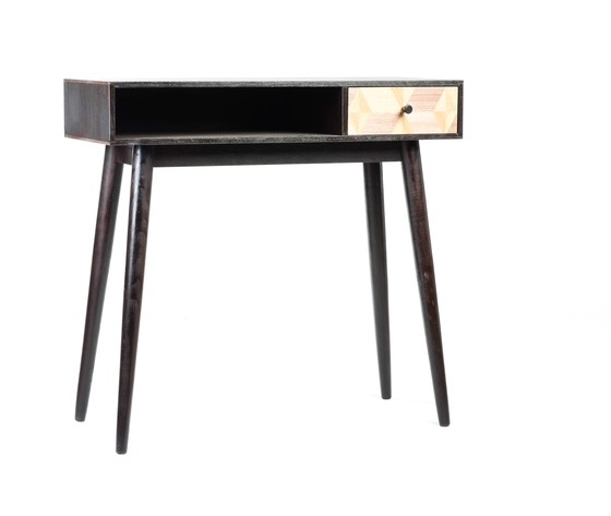 tavolino legno 1 cassetto new retrò industrial