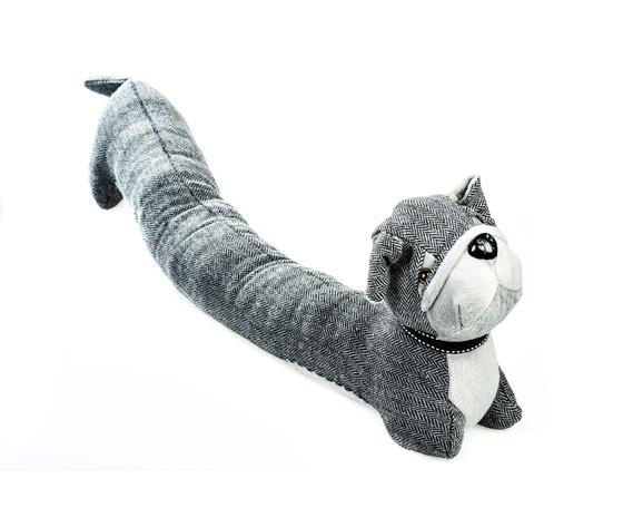 paraspifferi cane grigio tessuto