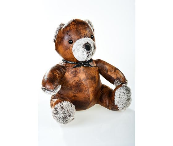fermaporta ecopelle teddy bear