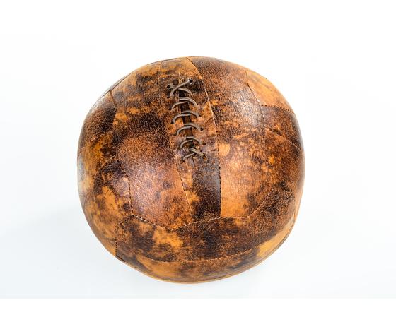 fermaporta ecopelle pallone calcio vintage retrò