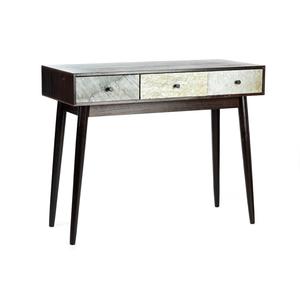 tavolino legno 3 cassetti new retrò industrial