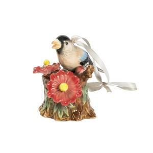 uccellino canterino in ceramica