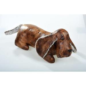 fermaporte ecopelle cane bassotto