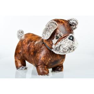 fermaporta in ecopelle dog