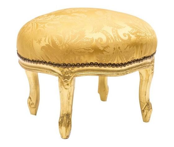 Pouf Rotondo Oro