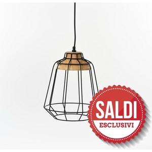 lampada sospensione nero SALDI
