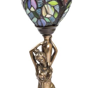 Lampada stile Tiffany da tavolo Donna Multicolore