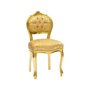 sedia musicista barocco oro