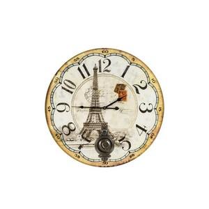 orologio da parete stampa tour eiffel