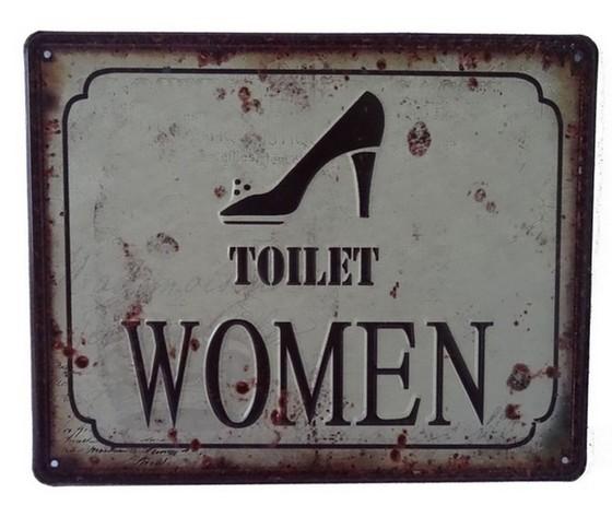 targa metallo toilet women