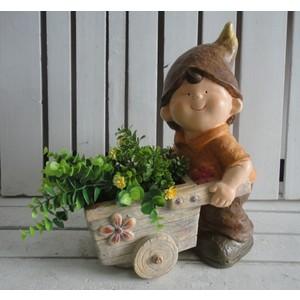 vaso porta piante bambino
