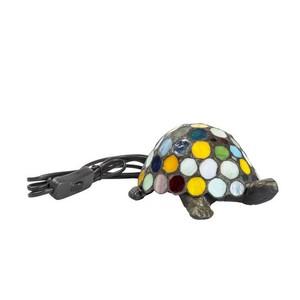 lampada da tavolo tartaruga colorata
