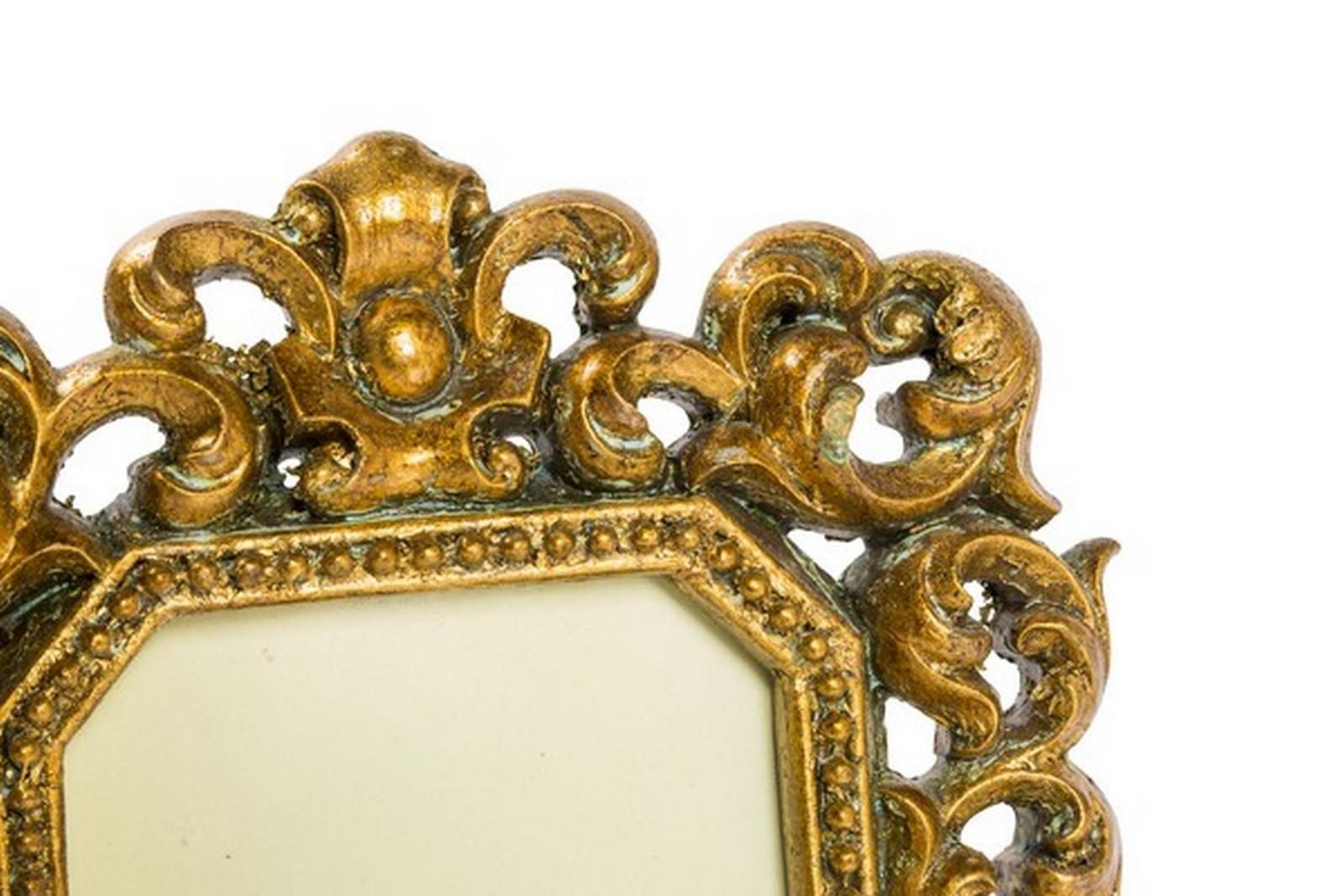 Way Home Store Mensola resina oro barocco gold foglie