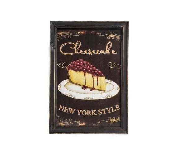 quadro decorativo shabby chic cheesecake
