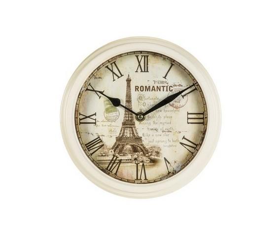 orologio da parete stampa anticato tour eiffel