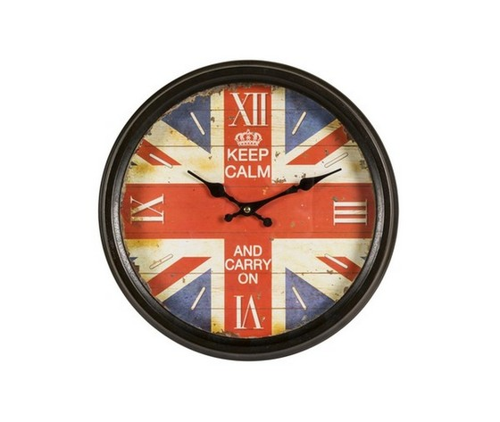 orologio da parete stampa keep calm