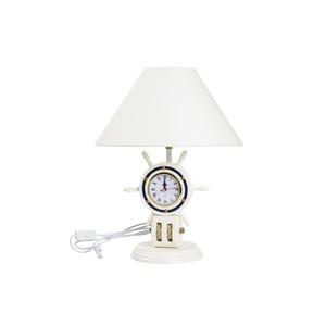 lampada nautica con orologio