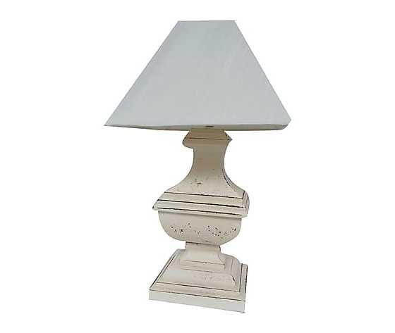 lampada da tavolo shabby chic
