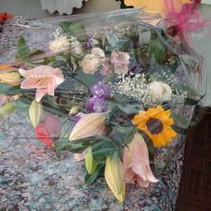 Mazzo fiori freschi misti
