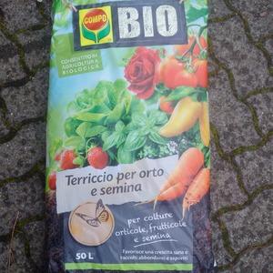 Terriccio bio per orti e semine