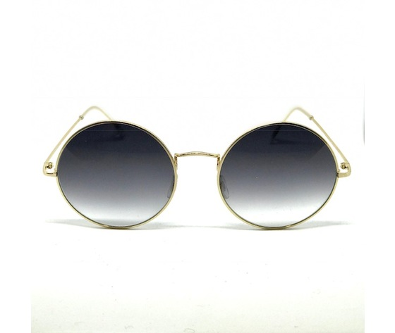 EYEWEARLAB BIG ROUND SUN gold&grey