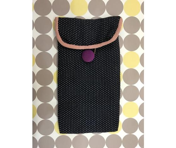 Astuccio per occhiali Pois - Hand made in Italy
