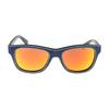 Occhiale da sole diesel dl0111 90u denim lente specchiata  arancio