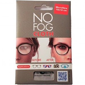 NO FOG cloth - Microfibra 15x18 cm