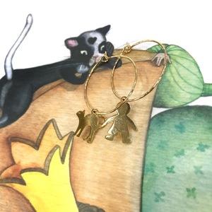 Orecchini Cerchio Alle & Co. Bambino +Gatto