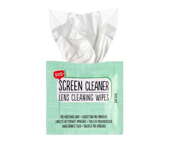 Salviette per pulizia schermi e occhiali