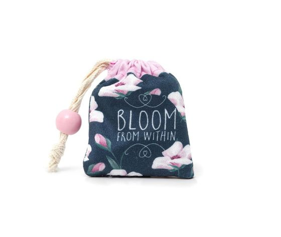 Microfibra per pulizia occhiali e schermi - Flower Bloom
